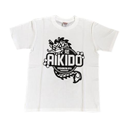 54c5bd88 One-dragon design Ryu T-shirt (White) — Aikido Ryu